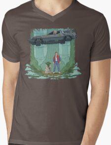 Back to the Swamp Mens V-Neck T-Shirt