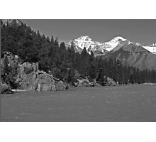 Bow River, Canada Photographic Print