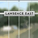 LAWRENCE Rt Station by Daniel McLaren