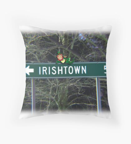 In Honor of St. Patrick's Day Throw Pillow