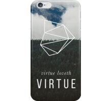 Virtue Loveth Virtue iPhone Case/Skin