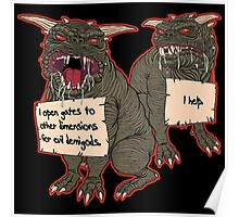 Terror Dog Shaming Poster