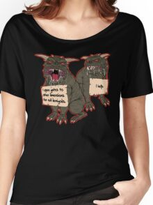 Terror Dog Shaming Women's Relaxed Fit T-Shirt