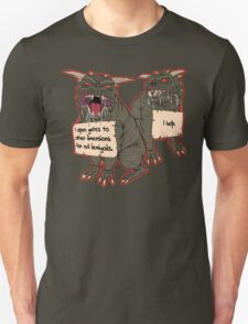 Terror Dog Shaming Unisex T-Shirt
