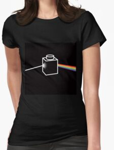 Dark Side of the Brick Womens Fitted T-Shirt
