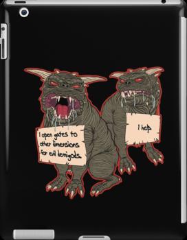 Terror Dog Shaming by evolvingeye