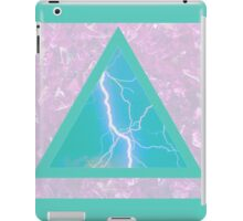 Lightning Triangle II iPad Case/Skin