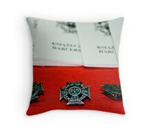 Scouts Cross Throw Pillow