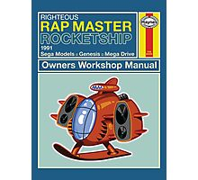 Rap Master Manual Photographic Print