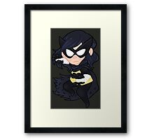 DC Comics || Black Bat Framed Print