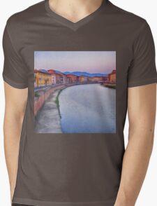 Pisa II Mens V-Neck T-Shirt