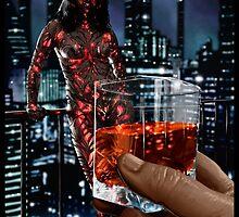 Cyberpunk Painting 057 by Ian Sokoliwski