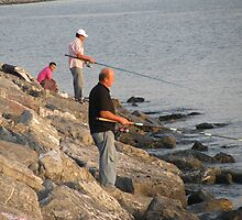 Fishing in Istanbul by rasim1