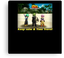 Dragonball Online Revelations - Keep Calm & Time Travel Canvas Print
