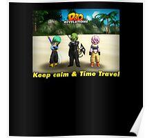 Dragonball Online Revelations - Keep Calm & Time Travel Poster