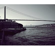Istanbul -Bosphorus Bridge Photographic Print