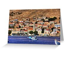 Across the bay Greeting Card