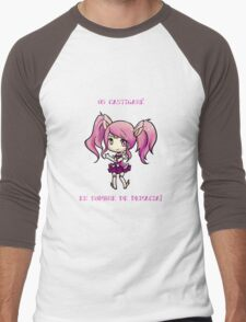 Chibi Lux Men's Baseball ¾ T-Shirt