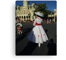 Jolly Holiday with Mary Canvas Print