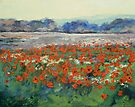 Poppies in Flanders Fields by Michael Creese