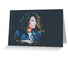 Katie Melua Greeting Card