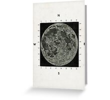 Moon Scale Greeting Card