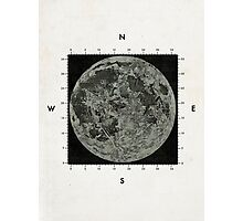 Moon Scale Photographic Print