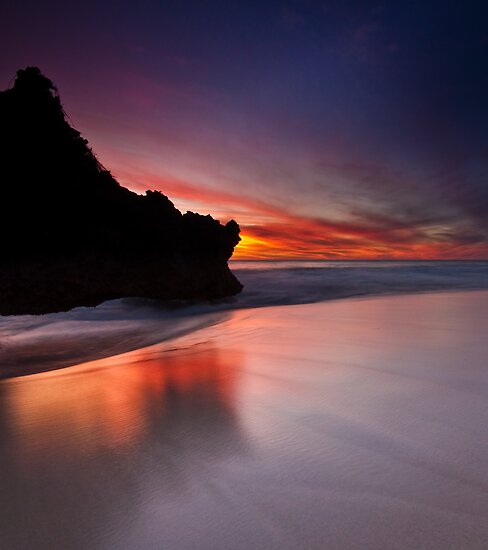 Outcrop Beach by Jonathan Stacey