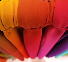 United colors of scarfs by Raúl  Ortiz de Lejarazu Machin