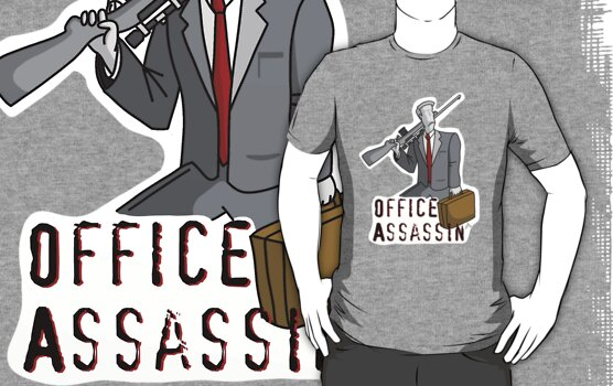 Office Assassin by peabody00