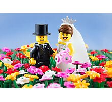 The Happy Couple Photographic Print