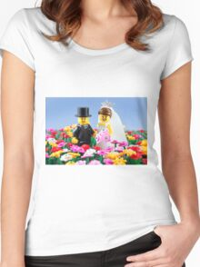 The Happy Couple Women's Fitted Scoop T-Shirt