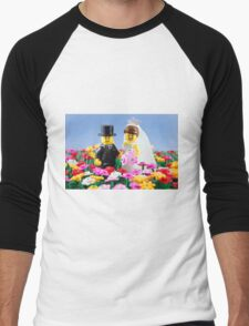 The Happy Couple Men's Baseball ¾ T-Shirt