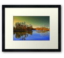 Hidden Lake Framed Print