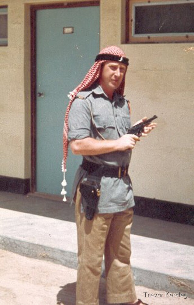 Trucial Oman Scouts 1962 by Trevor Kersley