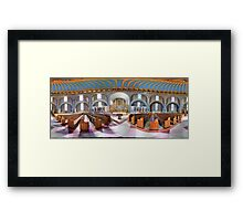 360 degree  view (Must visit, LINK in description)  of the Ukrainian  Catholic Cathedral of the Immaculate Conception, Philadelphia Framed Print