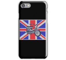 SCOOTER-UK iPhone Case/Skin