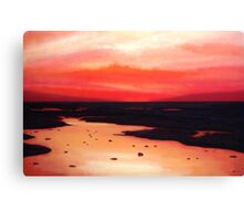Earth Swamp Canvas Print