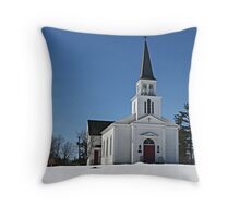 St. James Meeting House Throw Pillow