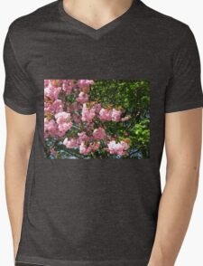 Laden with Blossoms Mens V-Neck T-Shirt