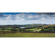 Dartmoor: Sheepstor Village, Burrator Reservoir, Devon UK. Photographic Print