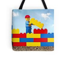 Build it Higher Tote Bag