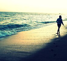 Footprints in the Sand by stephanielim