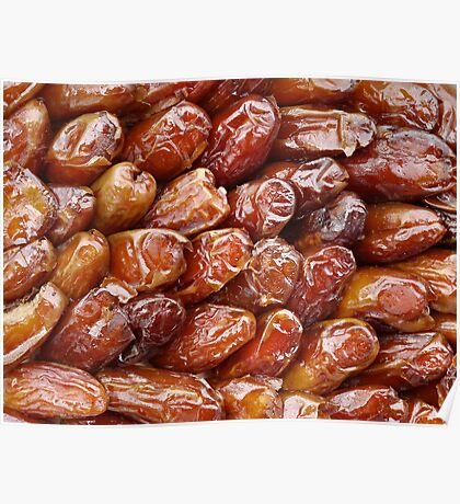 Food - dried dates Poster