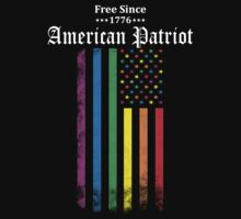 Free Since 1776 - American Patriot by LegendTLab