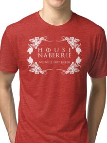 House Naberrie (white text) Tri-blend T-Shirt