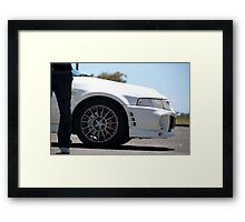The Evo Lifestyle Framed Print
