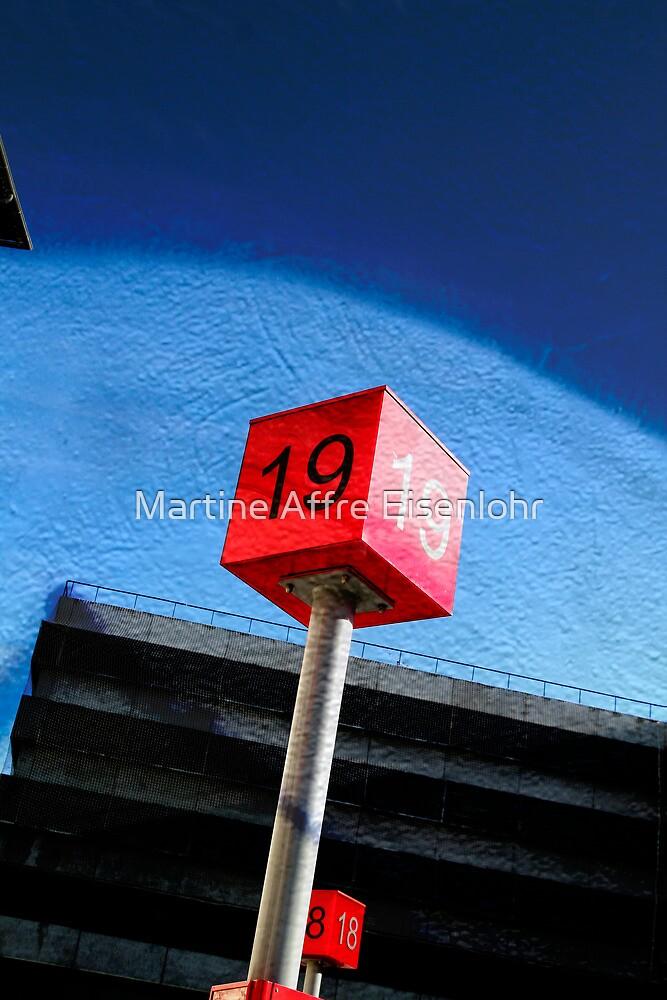 Number 19 by Martine Affre Eisenlohr
