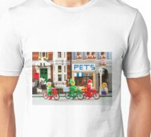 Santa in the City Unisex T-Shirt