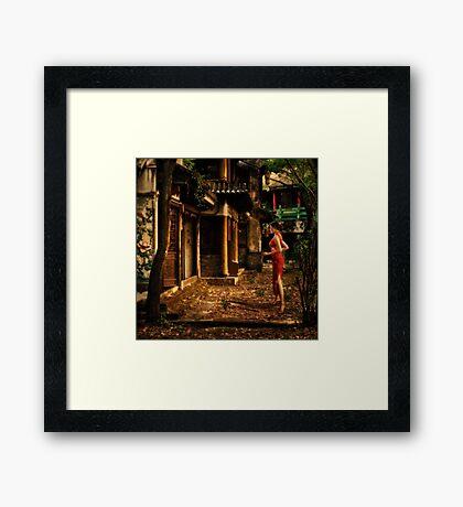 Visitation Framed Print